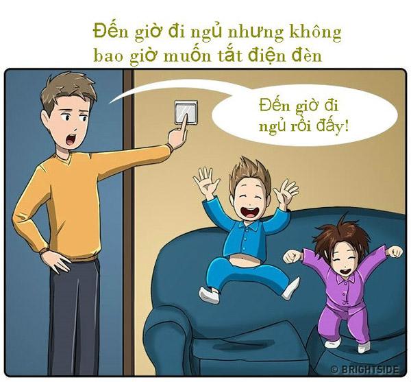 Tập cho bé thói quen tự ngủ