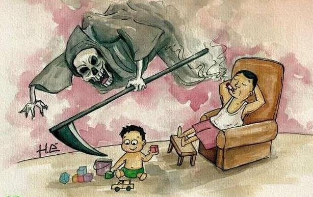 thuốc lá gây hại cho phổi của trẻ