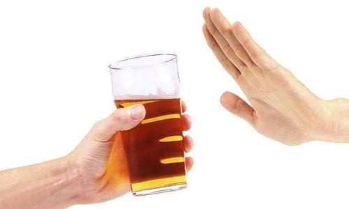 Từ chối rượu bia để có cuộc sống lành mạnh, thụ thai tốt