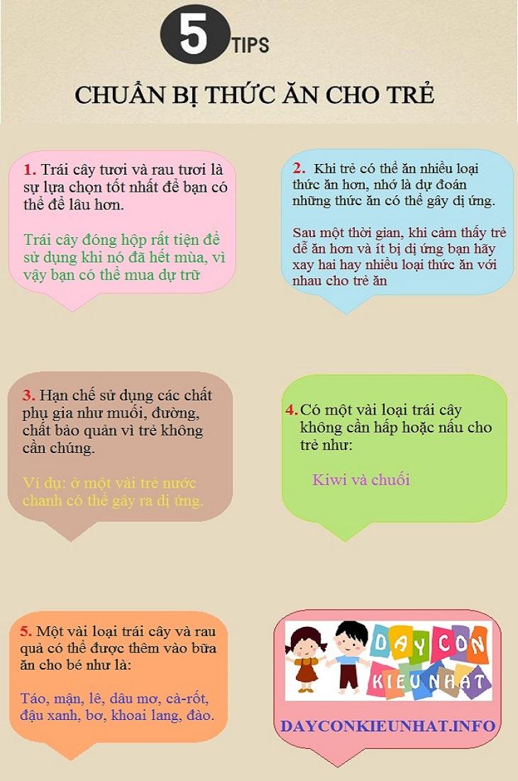 Những điều các mẹ cần biết khi cho con ăn dặm kiểu Nhật