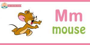 Flashcard cho bé -mouse