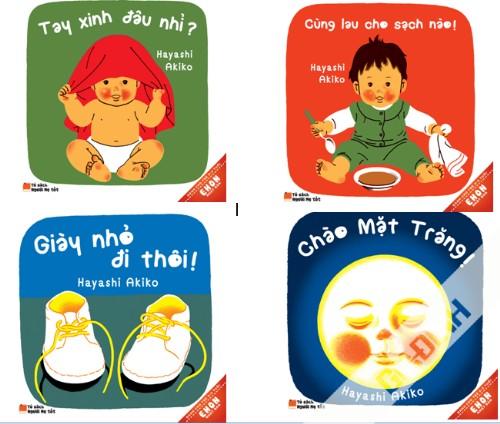 Dạy con bằng truyện Ehon đã có mặt ở Việt Nam