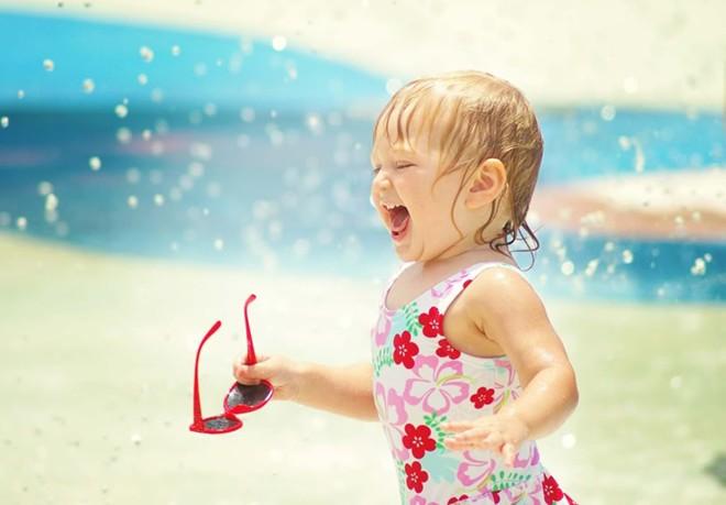 Những căn bệnh mùa hè ở trẻ