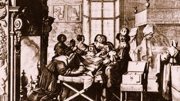 Quá trình sinh con đáng sợ của phụ nữ thời xưa