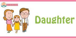 flashcard cho bé- chủ đề gia đình 12