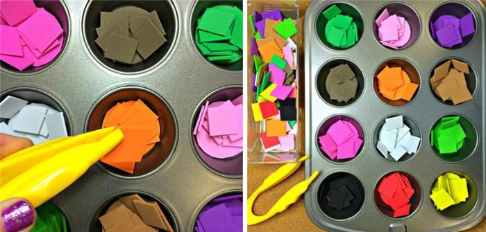 Trò chơi giúp bé phân biệt màu sắc