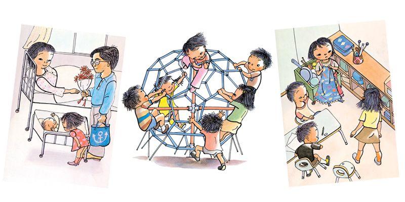 dạy con bằng truyện Ehon giúp trẻ thông minh hơn