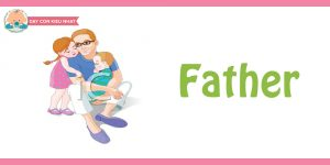 flashcard cho bé- chủ đề gia đình 11