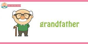 flashcard cho bé- chủ đề gia đình 8