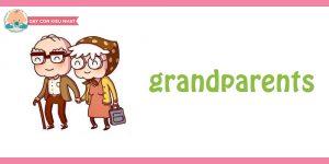 flashcard cho bé- chủ đề gia đình 6