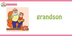 flashcard cho bé- chủ đề gia đình 5