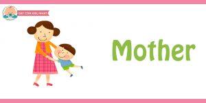 flashcard cho bé- chủ đề gia đình 3