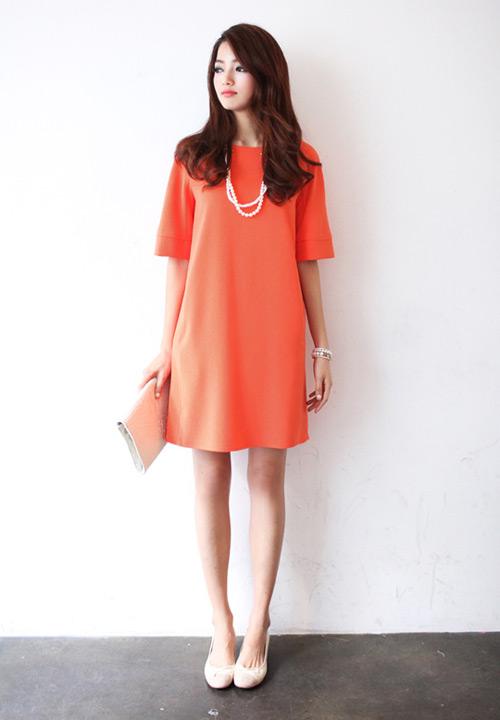 Đầm suông công sở