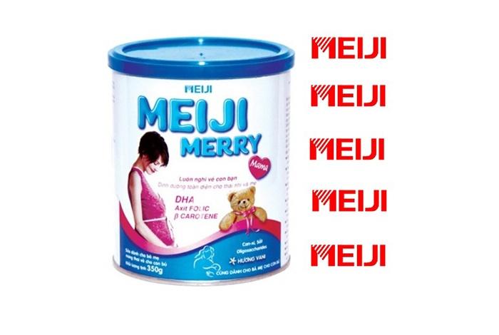Sữa Meiji cho mẹ