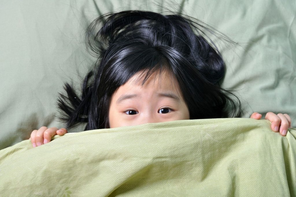 Nỗi sợ của trẻ dưới 2 tuổi