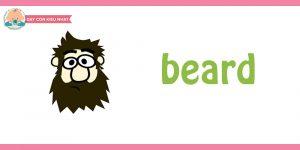 flashcard cho bé chủ đề mái tóc 54