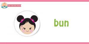 flashcard cho bé chủ đề mái tóc01