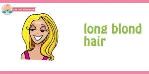 flashcard cho bé chủ đề mái tóc10