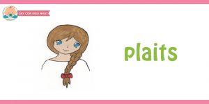 flashcard cho bé chủ đề mái tóc6