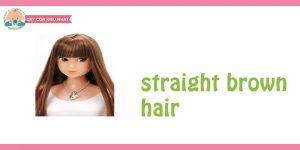 flashcard cho bé chủ đề mái tóc 1
