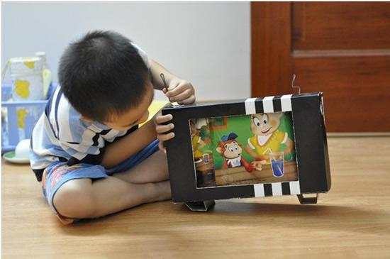 Không tốn 1 xu để làm những món đồ chơi sáng tạo cho bé