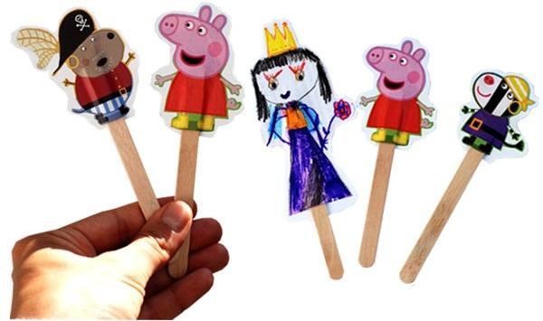 Trò chơi sáng tạo từ que kem cho bé