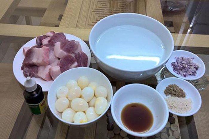 cách nấu thịt kho trứng