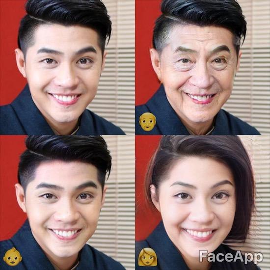 """Hình ảnh """"già như trái cà"""" của sao Việt khi sử dụng FaceApp"""