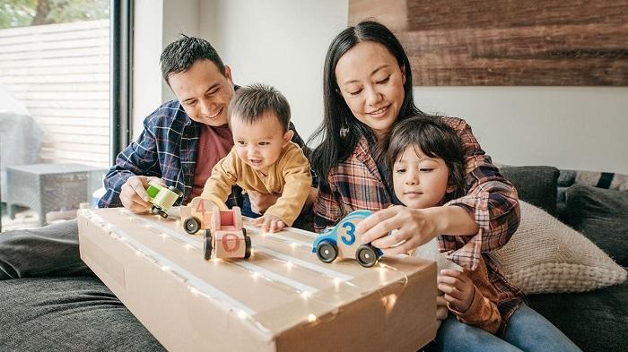 Đồ chơi gấp hình giấy kích thích sự phát triển của trẻ - phương pháp dạy con của người Nhật