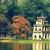 Tháp rùa ở Hồ Hoàn Kiếm