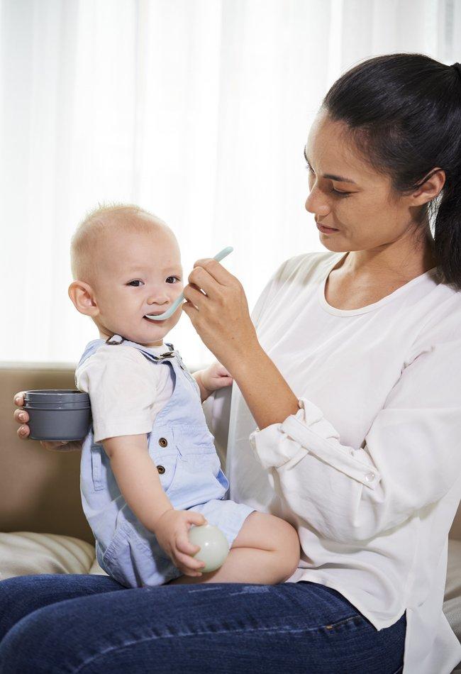 Ăn dặm kiểu Nhật cho bé 5-6 tháng tuổi