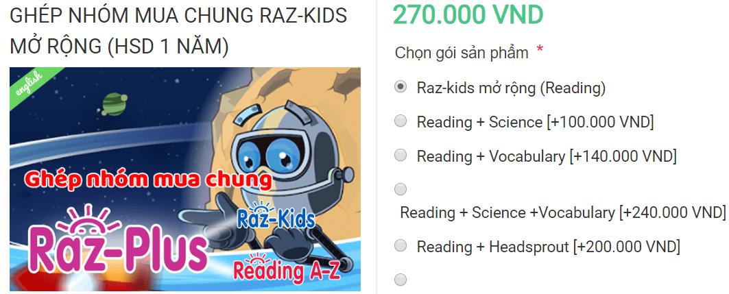 RazKids tiếng Việt