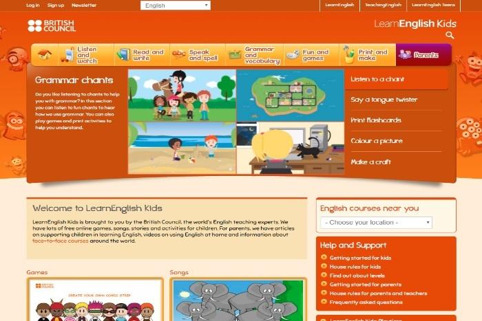Học tiếng Anh online tốt nhất cho trẻ - Hội Đồng Anh LearnEnglish 01