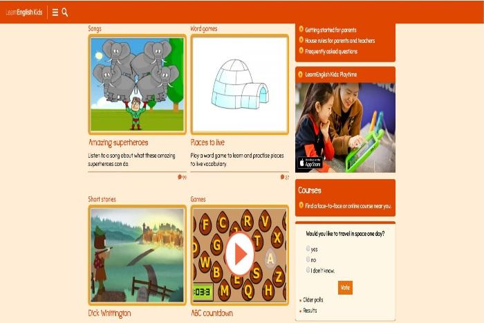 Học tiếng Anh Online tốt nhất - Hội Đồng Anh LearnEnglish 01