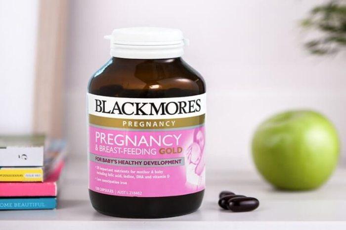 Blackmores Pregnancy Gold thuốc DHA uy tín cho phụ nữ mang thai