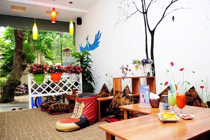 Quán cafe cho trẻ em Hà Nội