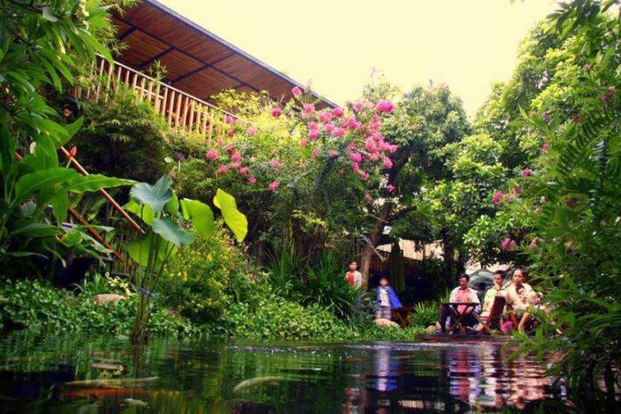 Quán cafe sân vườn đà nẵng
