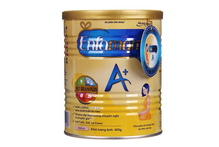 Sữa Emfamama A+, sữa bầu tốt cho mẹ được ưa dùng