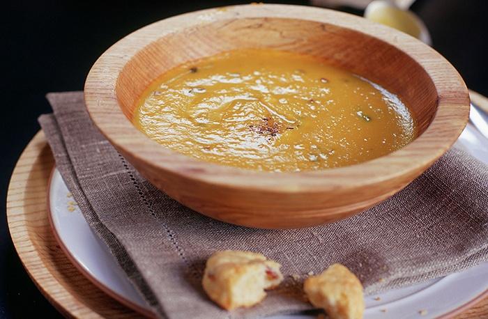 công thức nấu súp bí đỏ cho bé
