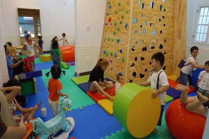 Quán cà phê có khu vui chơi trẻ em tại TPHCM