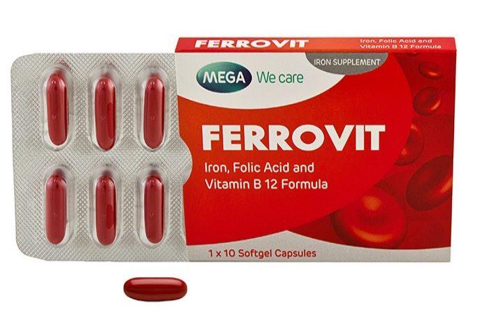 Thuốc sắt ferrovit