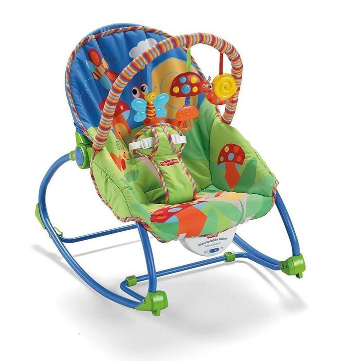 Nên mua ghế rung fisher price p3334 cho bé không?