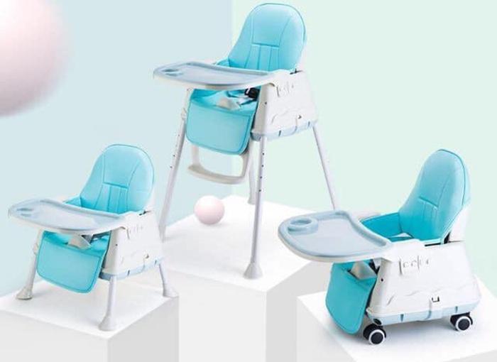 Ghế hanbei có thể điều chỉnh độ cao phù hợp với bé