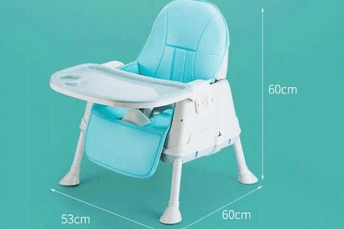 ghế ăn dặm hanbei kích thước 60x60x53