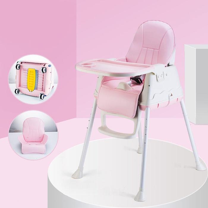 ghế hanbei màu hồng