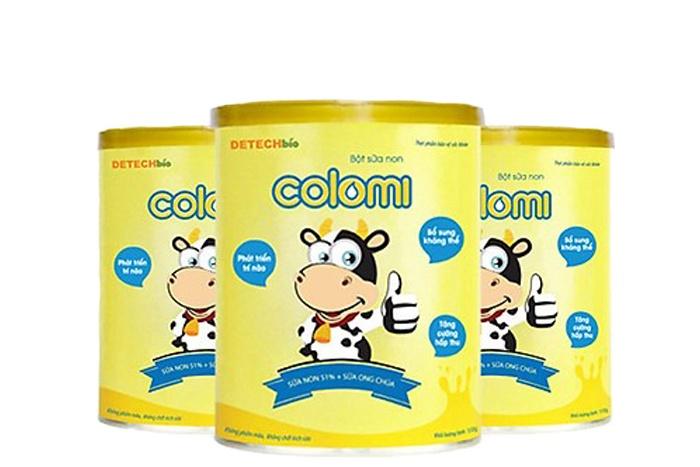 Colomi - sữa non cho bé phát triển