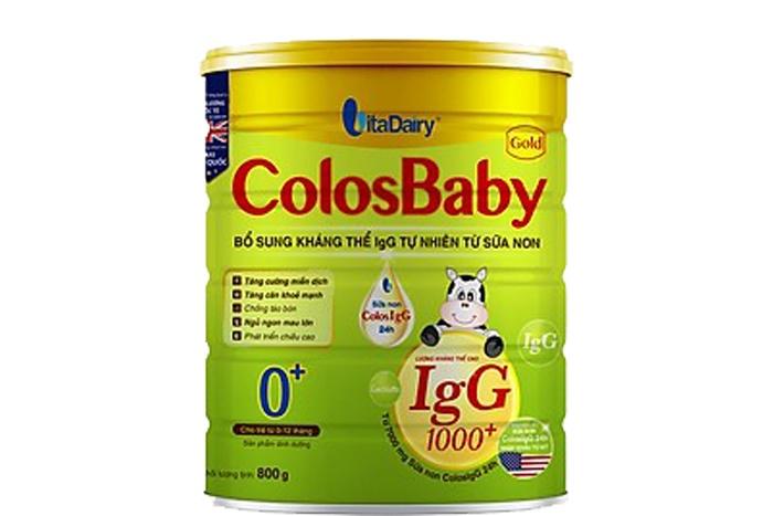 Sữa non cho bé Colosbaby Gold