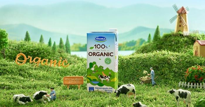 Sữa tươi tiệt trùng Vinamilk Organic