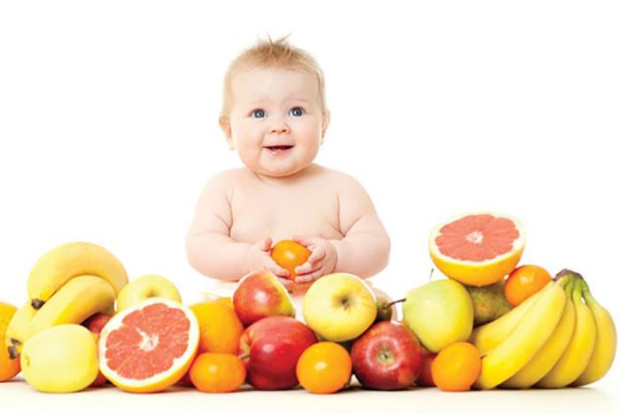 Bánh ăn dặm trái cây cho bé