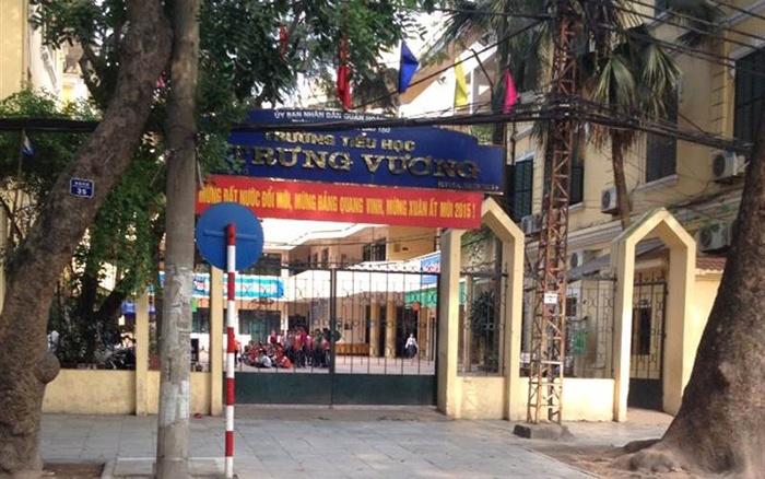 Trường tiểu học Trưng Vương Hà Nội được đánh giá tốt nhiều năm liền